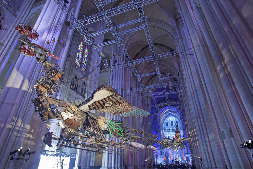 Xu Bing Phoenix 2014 Cathedral of St John the Divine
