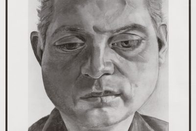 Lucian Freud, Wanted Poster, 2001, Lithograph printed in colors 84 x 59 cm (33.07 x 23.23 in)